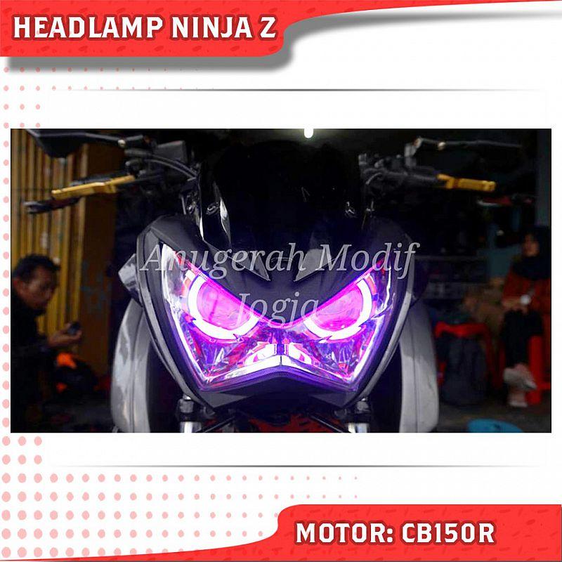 Jual Shroud CB650F dan Headlamp Ninja Z untuk CB150R