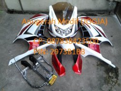 Fairing Model Ninja 250 Carbu Universal