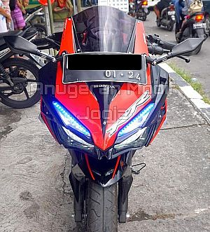 New CB Modif ala CBR250RR Alis Led Kekar
