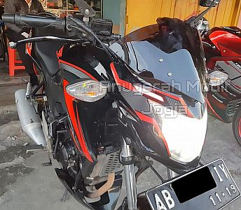 Cover Headlamp OLD CB150 ALA Murah dan Keren Plus Alis Led