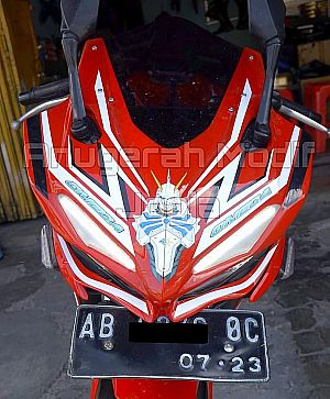 Cover Headlamp Model CBR250RR untuk CBR150R Facelift