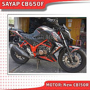 sayap samping cb150r model cb650f mix body ninja