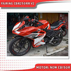 modifikasi all new cb150r full fairing CBR250RR Red Racing