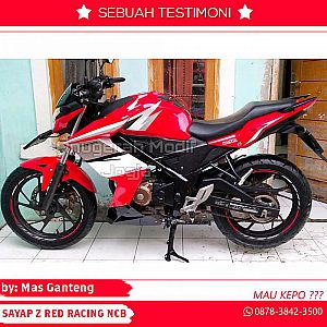 sayap new cb150r model Z Red racing