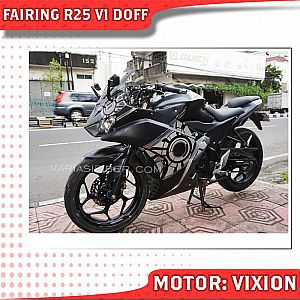 Full Fairing R25 New Vixion Mix Body Ninja