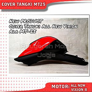 Cover Tangky Model MT25 + Shroud All New Vixion R