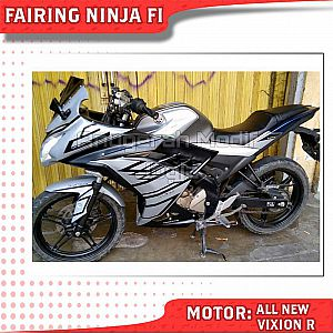 All New Vixion R Modifikasi ala Ninja FI