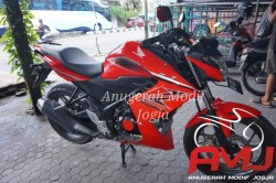 Half Fairing All New CB150R Ala Z250