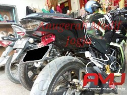 Bodi Belakang Honda All New CB150r Model Ninja