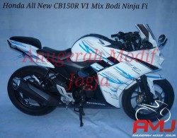 Full Fairing R25-V1 di Honda All New CB150R