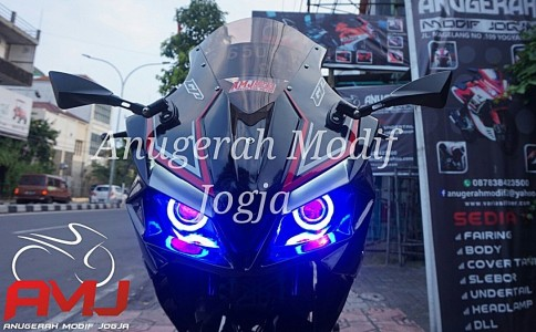 Full Fairing Old Vixion Ala CBR250RR Mix Ninja
