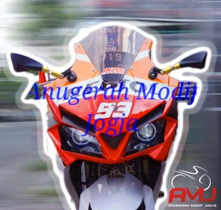 Full Fairing New Vixion Ala CBR250RR Mix Ninja Fi