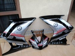 FAIRING MODEL NINJA 250FI hitam