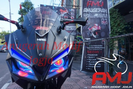Full Fairing OLD CB150R Ala CBR250RR Mix Ninja Fi