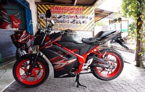 Half Fairing / Sayap New CB 150R BLACK DOFF 6-SPEED