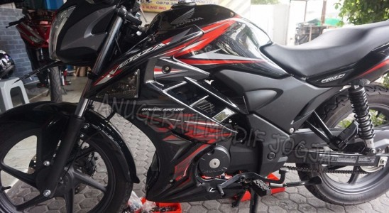 Jual Half Fairing Verza Model Transformer Black