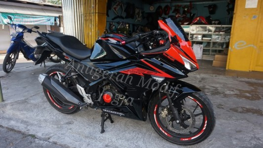 Fairing ala new cbr150 facelift