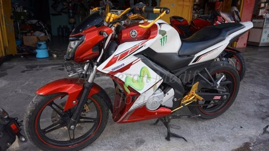 Half Fairing Z Model New Vixion