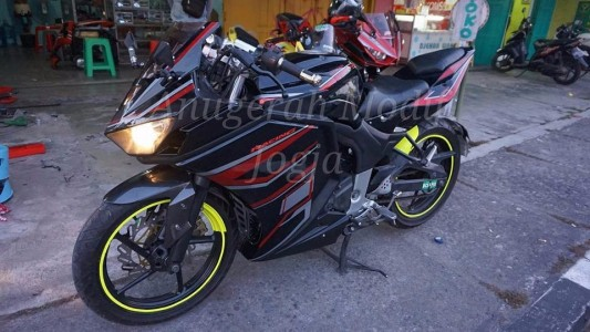 Full Fairing Byson Karbu Ala R25 V2 Mix Body R6