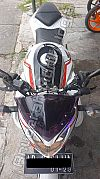 OLD CB150R Modif Naked (Topeng, Body Ninja, Sayap Z & Cover Tangky)