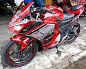 Full Fairing New V-Ixion Ala R25-V2 Mix Cover Tangky CBR250RR