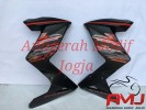 Half Fairing black metallic Z250 untuk All New CB150R