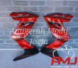 Half Fairing red metallic Z250 untuk All New CB150R
