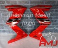 Half Fairing red doff Z250 untuk All New CB150R
