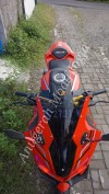 Full Fairing Model CBR250RR Red JP Style Untuk New CB