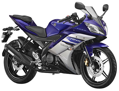 Yamaha R15 RACING BLUE - LEFT